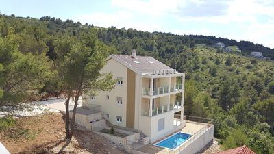 Photo for Luxurious 5 star sea view villa Magic for 12 persons with pool EOS-CROATIA