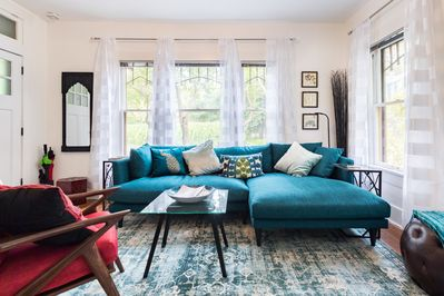 Welcome to River city Bungalow in the heart of  King William Historic District