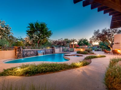 Photo for STUNNING SCOTTSDALE RETREAT