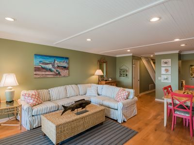 Photo for NEW OWNER - Lovely Oceanfront Townhouse  w/golf cart & sportscard