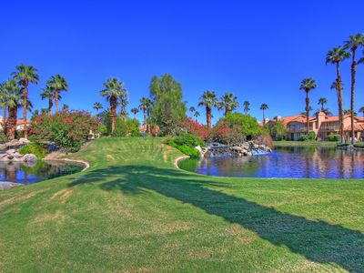 Photo for 173LQ PGA WEST LARGE 3 BEDROOM HOME OVERLOOKING 12TH GREEN PALMER PRIVATE