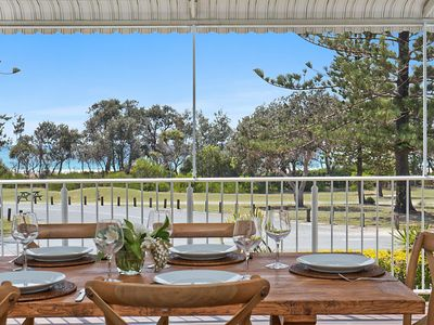 Photo for OCEANFRONT BEACH HOUSE ON MARINE PARADE