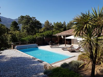 Photo for Porto Vecchio Luxury Villa in Corsica - Air Conditioned with Pool