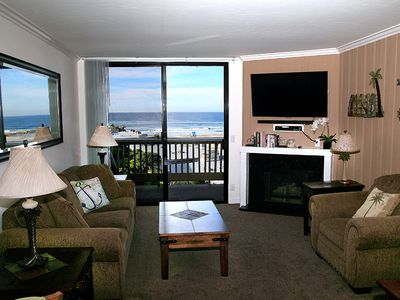 Photo for PANORAMIC OCEAN VIEW. Luxury Remodel! WASHER & DRYER in condo. G313 - Panoramic Perfection