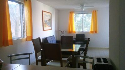 Photo for Comfortable, fully equipped, 2BD in a quiet neighborhood in downtown Cancun!
