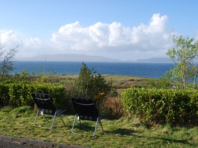 Photo for Cosy home nestled within scenic expanse of Clew Bay and Croagh Patrick