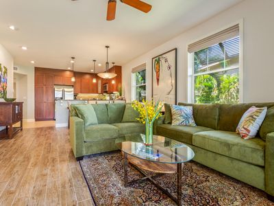 Photo for Gorgeous Hali'i Kai home, tranquil & cheerful ambience, families are welcomed
