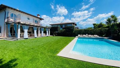 Photo for New modern style villa with heated swimming pool