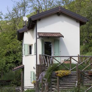 Photo for Nice 2 room apartment with garden in the Apennine Tuscan-Emilian
