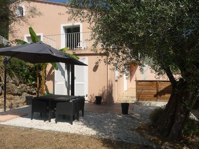 Photo for Charming 2 bedroom downstairs villa near Nice, Gattieres