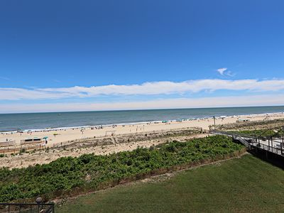 Photo for G405: Updated 3BR Sea Colony oceanfront condo | Private beach, pools, tennis ...