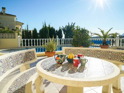 Photo for Vacation home Casa Helen in Moraira - 4 persons, 2 bedrooms