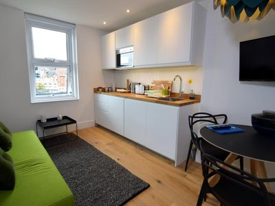 Photo for BOURNECOAST: MODERN FLAT IN THE HEART OF BOURNEMOUTH CENTRE NEAR BEACHES -FM6234