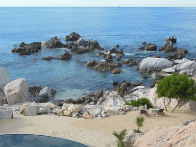Photo for Beach FRONT with Private Tide Pools and Beach, Breathtaking Views of Cabo, Arch!