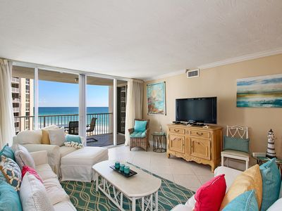 Photo for Shoreline Towers 2063 spacious unit with great views of beach and water