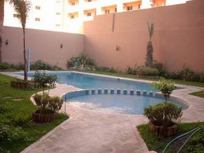 Photo for charming Moroccan apartment with pool - Guéliz - Hivernage - Marrakech
