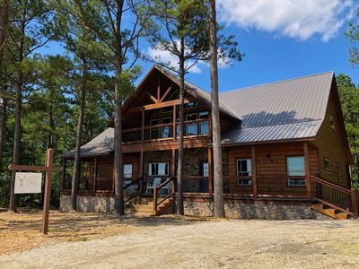 Photo for Trophy Buck Lodge - Brand New Summer 2019 5 bed/5.5 bath Cabin with Views