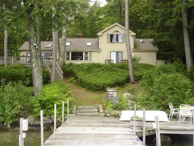 Photo for CHA104Wf - Beautiful 3 Bedroom On Black Point in Alton Bay