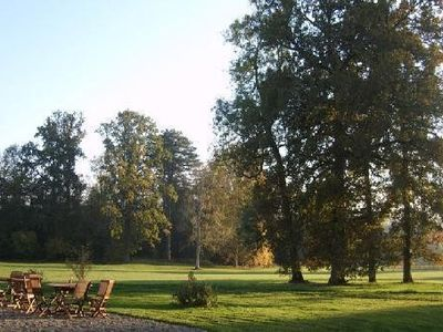 Photo for Chateau du Perche, large cottage on wooded park, near town and convenience