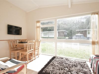 Photo for This charming two bed property is one of the wooden chalets on the popular Summercliffe Park. It's