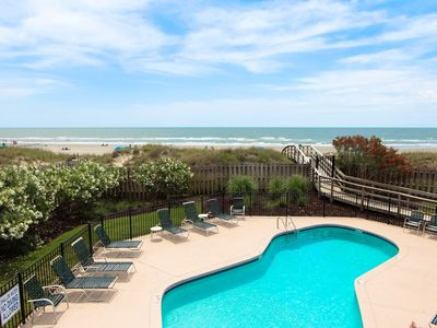 Photo for Stunning Oceanfront 3BR Condo in the Heart of IOP- Dunescape Complex