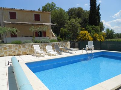 Photo for Provençal House With Pool In The Haut Var