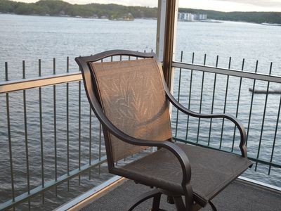 Photo for Magnificent 7 Mile View on Main Channel! Lake Of The Ozarks