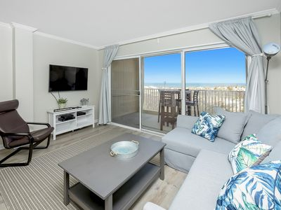 Photo for 2 Bedroom, Newly Renovated Oceanfront Condo with Oceanfront Pool!