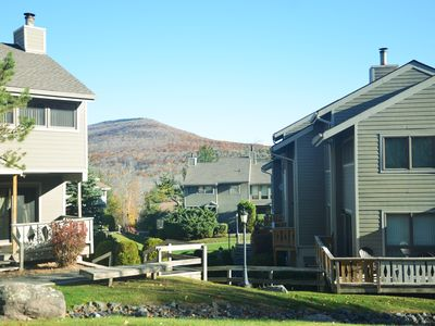 Photo for Charming 4 Season Slopeside Condo at Hunter Mtn.