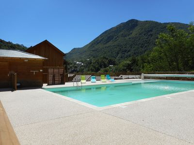 Photo for T3 apartment in quiet residence, in Ax les Thermes