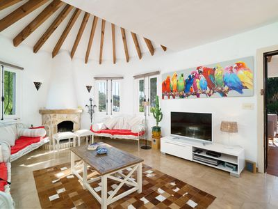 Photo for This 3-bedroom villa for up to 8 guests is located in Moraira and has a private swimming pool and Wi