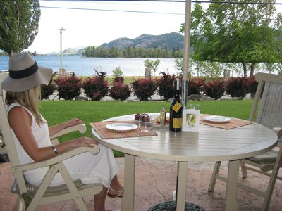 Photo for Celebrate Okanagan Country & Lake Osoyoos from our lakefront townhouse property