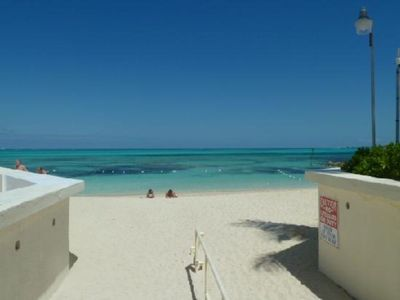 Photo for Beach Front on Cable Beach in Nassau Bahamas