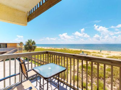 Photo for NEW LISTING! Oceanfront budget-friendly rental with shared pool, ocean views!