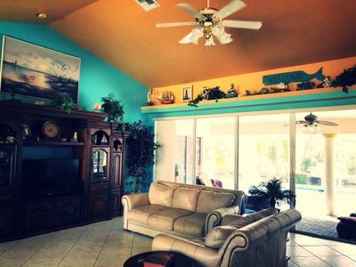 Photo for Sunsets & Smiles! Pet friendly! Family Friendly! Close to SWFL beaches, islands!