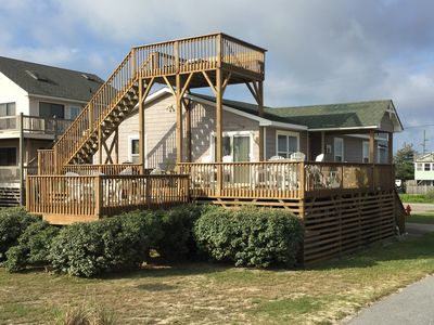 Photo for Oceanside family friendly living with hot tub and views galore!