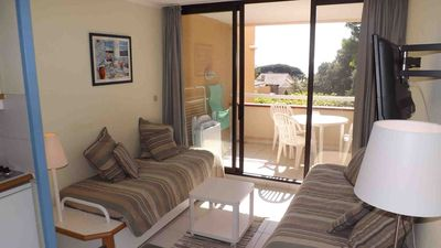 Photo for T2 sea view residence feet in the water direct access beach PIERRE ET VACANCES