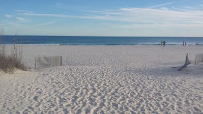 Photo for 4th floor - Right on the Beach -Balcony Gulf View - Pool - WIFI -  Sleeps 7
