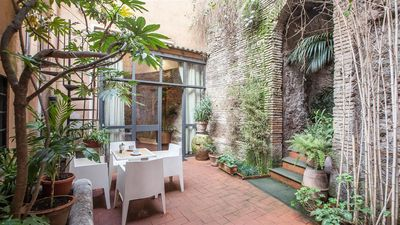 Photo for Pantheon 1999 apartment in Centro Storico with air conditioning & private terrace.
