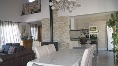 Photo for quiet house 5 minutes walk from lac de sanguinet and 20 minutes from the ocean