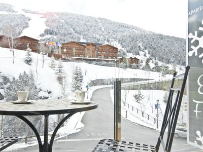 Photo for Floc 32 apartment in Canillo with WiFi, private parking, balcony & lift.