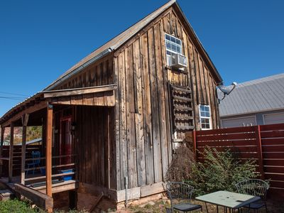 Photo for The Barn Board Cottage - restored historic cottage