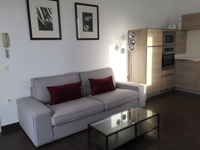 Photo for Exclusive attic in front of Market Atarazanas, 2B, great terrace, lift and train