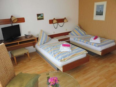 Photo for Twin Room - Pension Hohen Sprenz - Property 102781