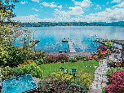 Photo for Large Waterfront Luxury Home Near Microsoft