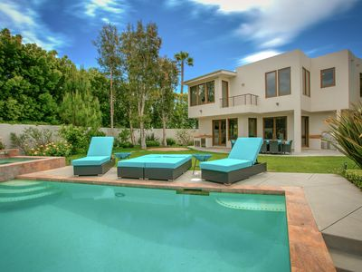 Photo for 5BR Hilltop Mansion w/ Infinity Pool, Hot Tub, & Outdoor Entertainment Area