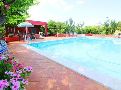 Photo for VILLA WITH PRIVATE SWIMMING POOL, OUTDOOR VERANDA, PRIVATE PARKING AND FREE WIFI