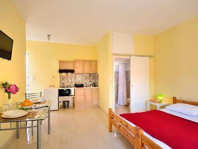 Photo for Two Studios in the ♥ of the City w Balcony, 3min to ⛱ - For Groups