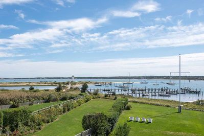 The Captain%39s House Enjoys Sweeping Edgartown Harbor Water Views From Many Places In The House
