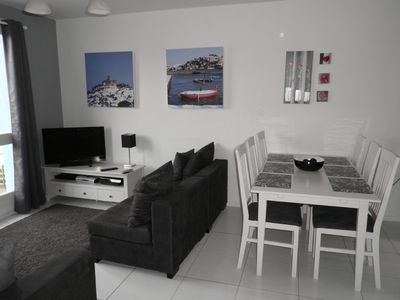Photo for A beautiful 3 bed house with contemporary interior design and a sea view